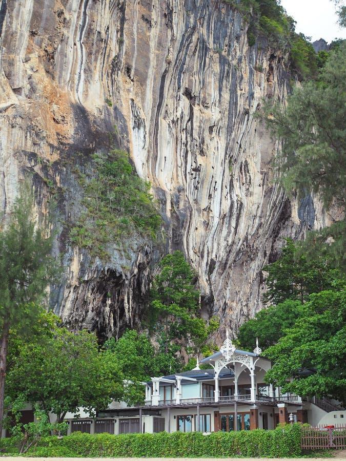 Взгляд пляжа Railay западный, Railay, Krabi стоковая фотография