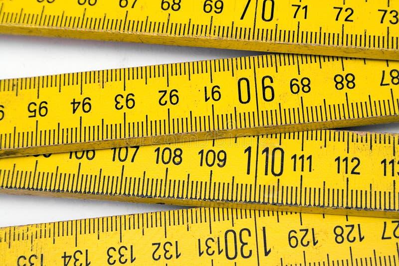 Download взгляд правила близкой складчатости открытый Стоковое Изображение - изображение насчитывающей closeup, измерение: 481885