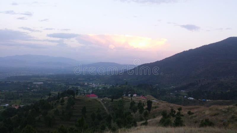 Взгляд природы гор Пакистана стоковое изображение