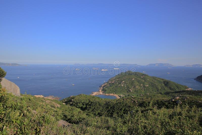 взгляд природы Шани Kok Ling, острова Lamma стоковая фотография