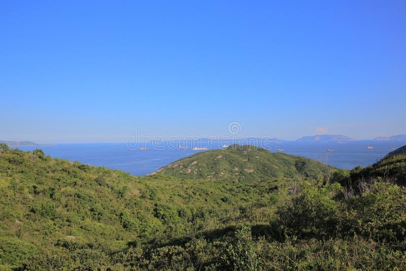 взгляд природы Шани Kok Ling, острова Lamma стоковое фото