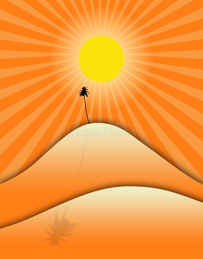 взгляд пустыни бесплатная иллюстрация