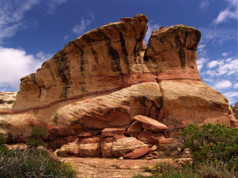 взгляд пустыни стоковая фотография