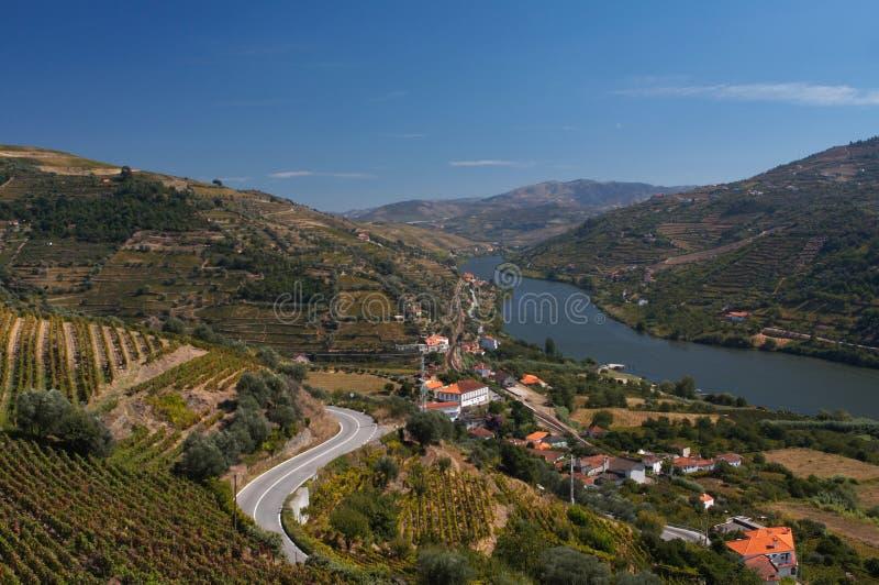 взгляд реки douro стоковые изображения