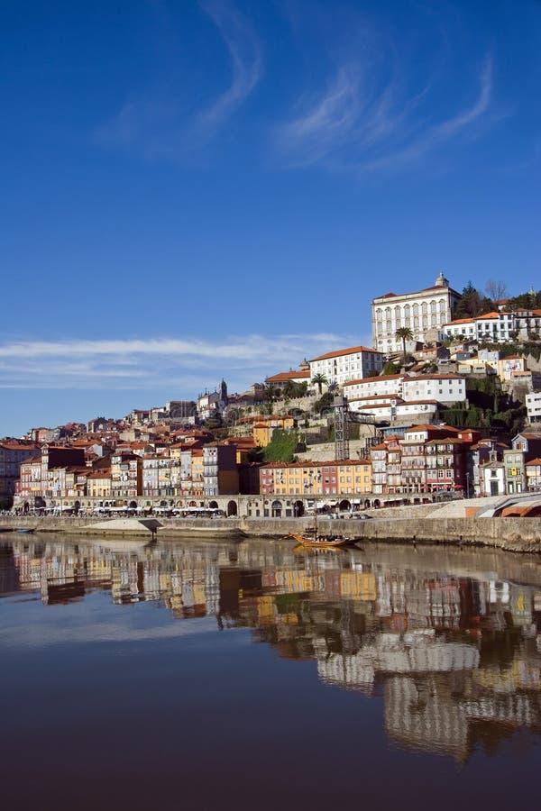взгляд реки porto douro стоковая фотография