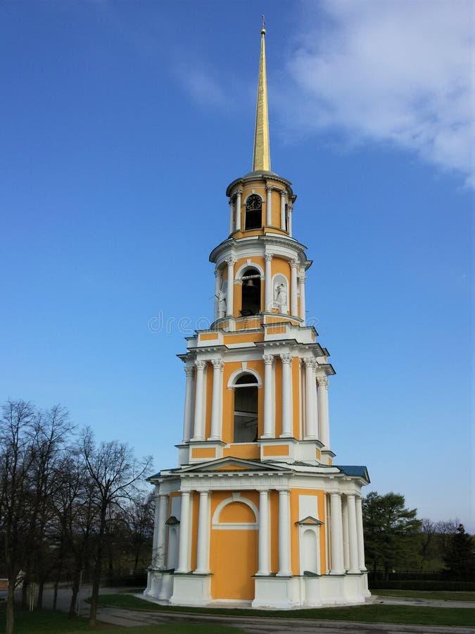 Взгляд Рязани Кремля, золотого кольца России стоковое фото