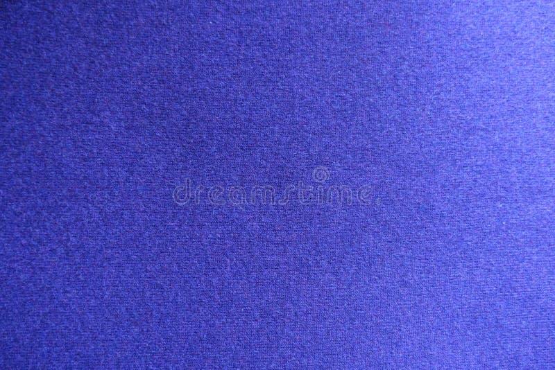 Взгляд сверху голубой ткани jersey стоковое фото rf