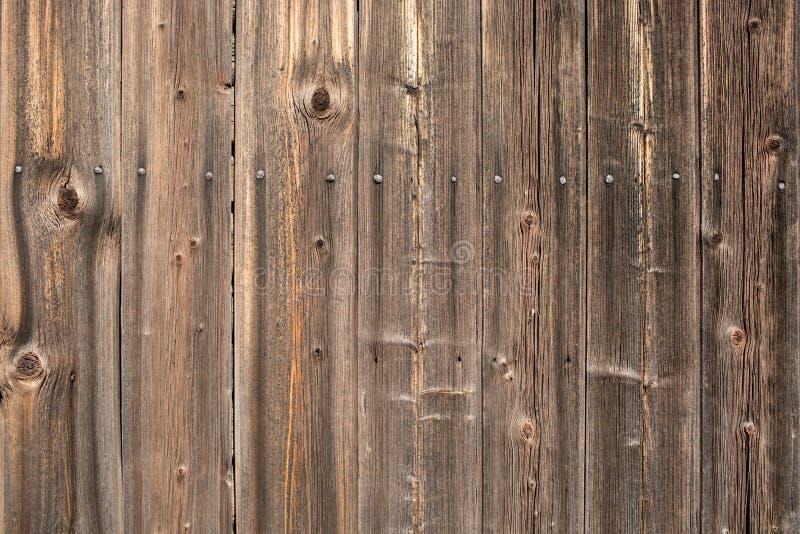 Взгляд сверху задней части конспекта текстуры Брайна естественной деревенской деревянной стоковые фотографии rf