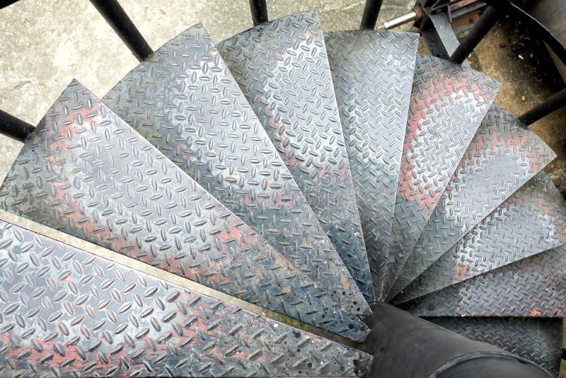 Взгляд сверху лестницы диаманта стоковое фото
