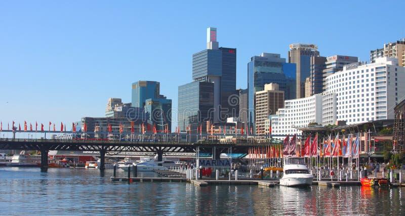 взгляд Сиднея гавани милочки стоковые фото