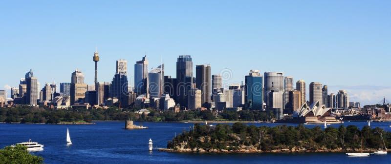 взгляд Сиднея города стоковое фото