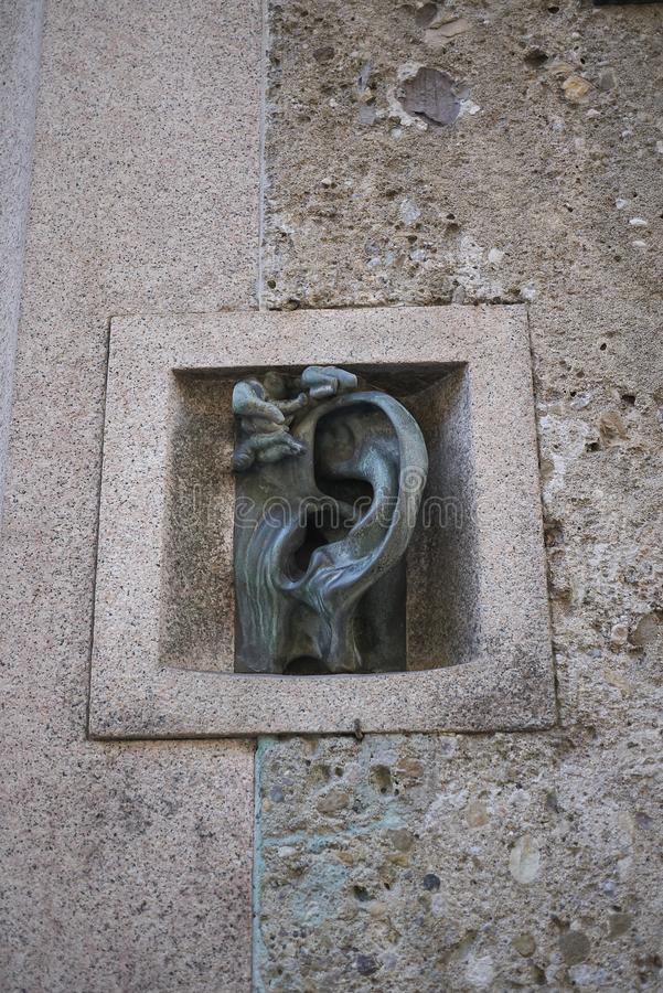 Взгляд скульптуры Wildt стоковое фото rf