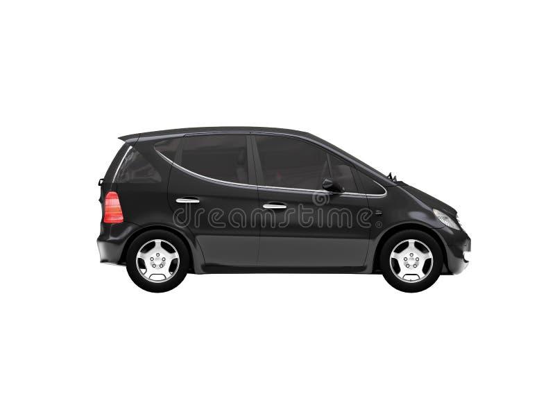 взгляд со стороны автомобиля миниый бесплатная иллюстрация