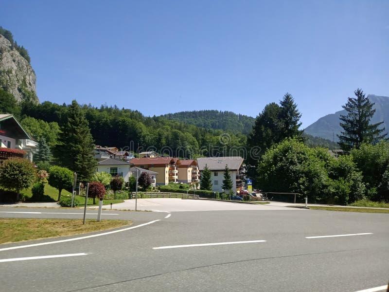 Взгляд со стороны деревни стоковая фотография rf