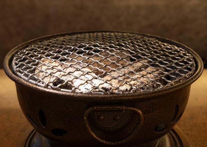 Взгляд со стороны плиты угля стоковые фотографии rf