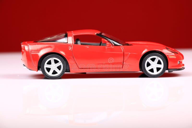 взгляд со стороны z06 2007 c6 Chevrolet Corvette стоковое изображение
