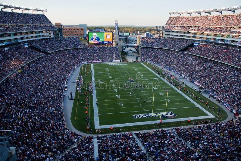 Взгляд стадиона Gillette общий   стоковое фото