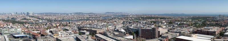 Взгляд Стамбул панорамный стоковое изображение