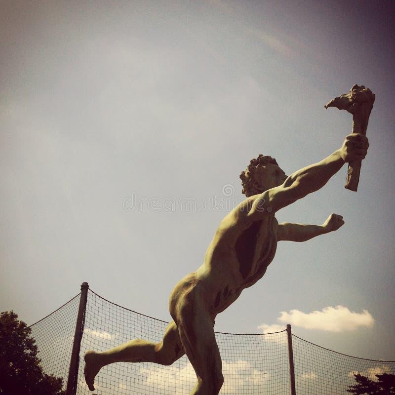 Взгляд статуи Tedoforo стоковая фотография rf