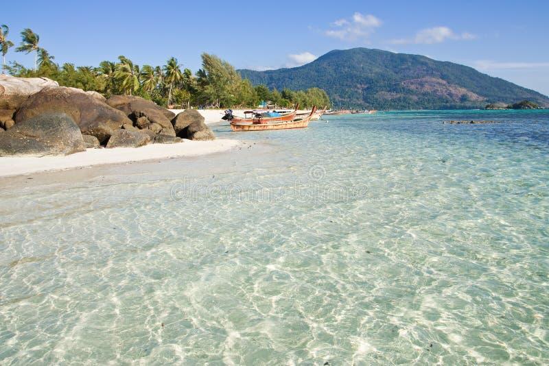 взгляд Таиланда lipe острова южный стоковые фотографии rf