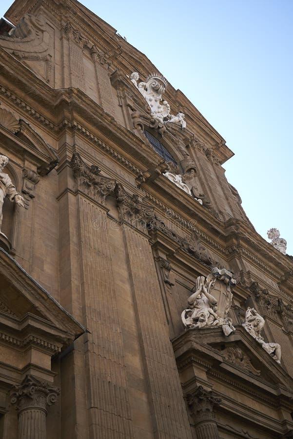 Взгляд церков Сан Gaetano стоковые фото