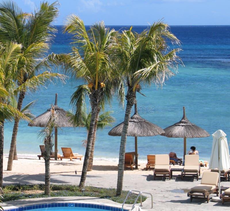 взгляд 21 пляжа стоковое изображение rf