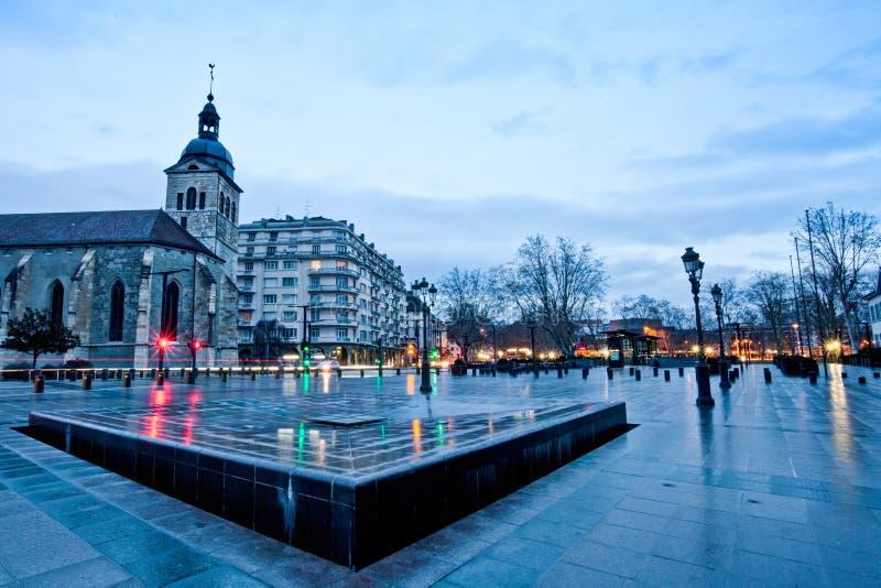 взгляд annecy Франции общий стоковые фото