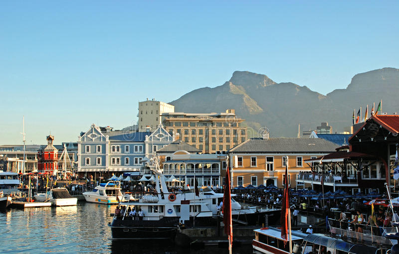 Взгляд Cape Town стоковое изображение