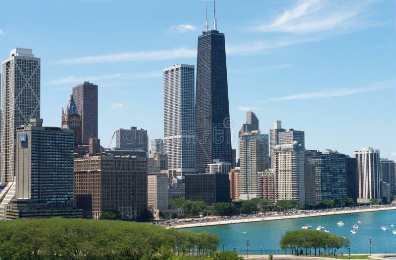 взгляд chicago стоковые фотографии rf