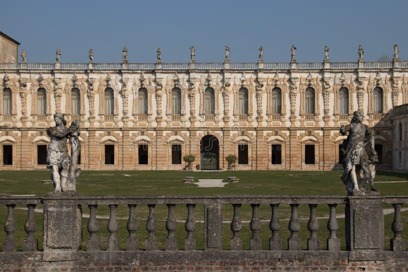 Взгляд Contarini виллы панорамный старинной виллы приятелем Андреа стоковые изображения