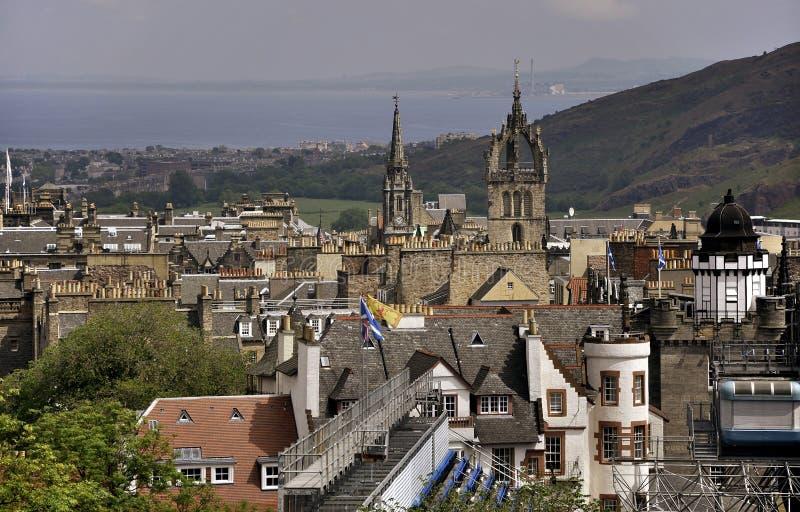 взгляд edinburgh Шотландии стоковые изображения