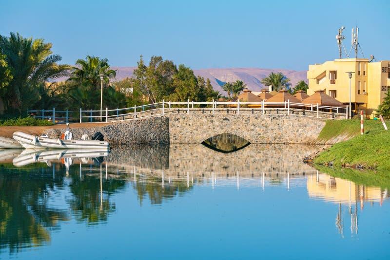 Взгляд El Gouna Египет стоковое фото