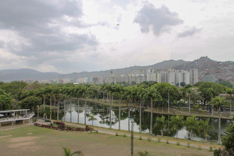 Взгляд El Valle в Каракасе, Венесуэле стоковое фото rf