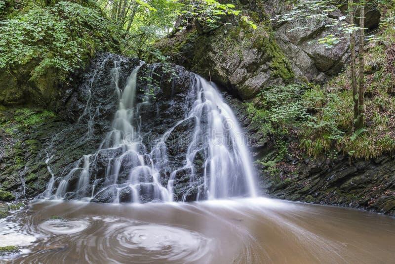 Взгляд Fairy водопадов Глена стоковое фото rf