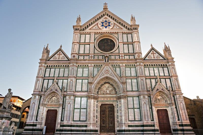 взгляд florence santa Тосканы croce стоковая фотография