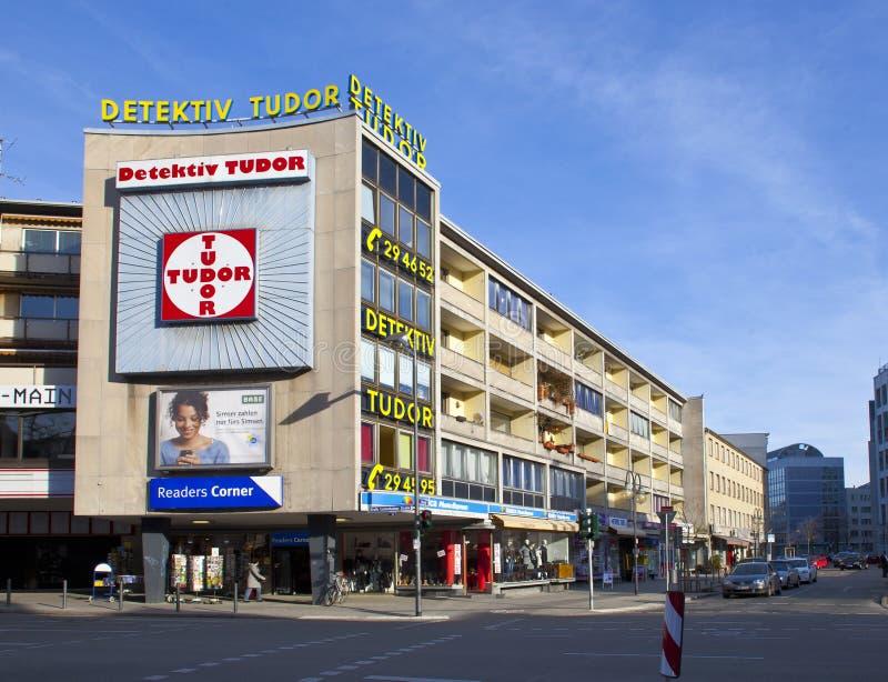 взгляд frankfurt урбанский стоковые фотографии rf