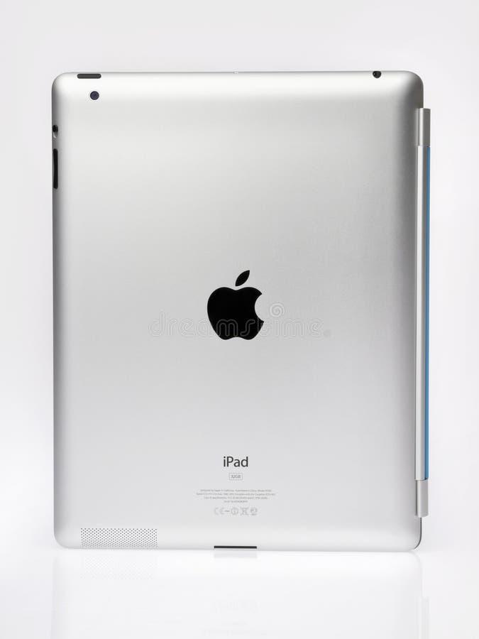 взгляд ipad2 яблока задний стоковое фото rf