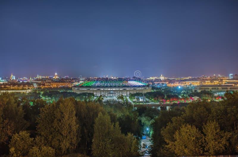 взгляд kremlin moscow России стоковая фотография rf