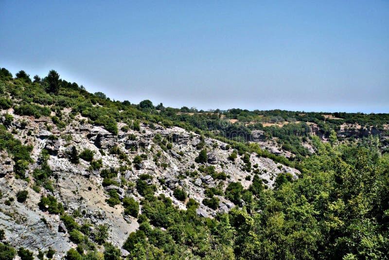 Взгляд mposz ¼ Olà на Греции стоковые изображения