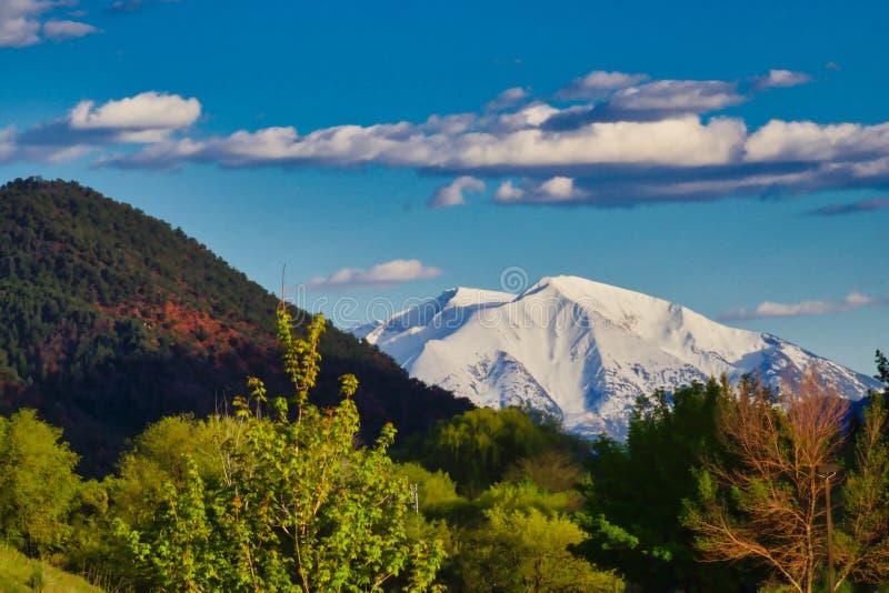 Взгляд Mt Sopris ?? Glenwood Springs стоковое фото rf