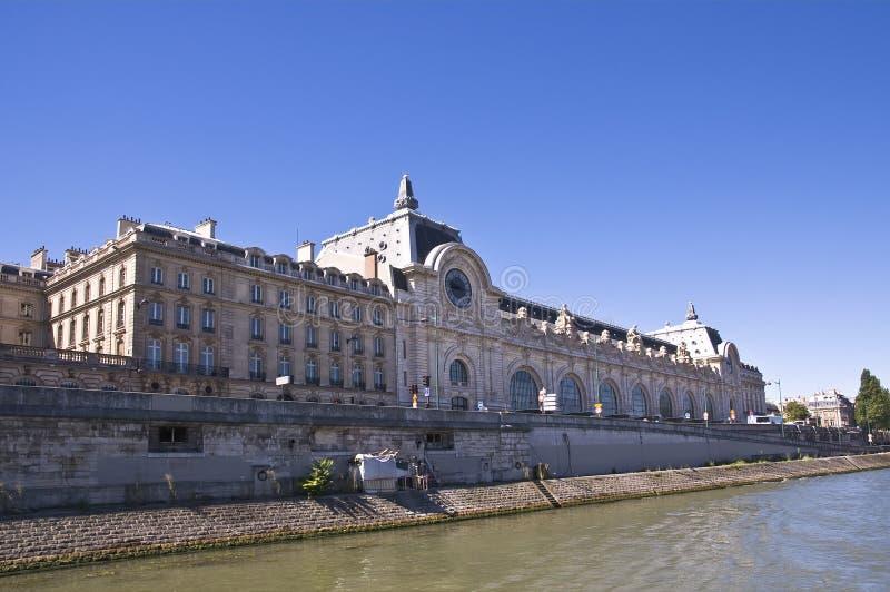 взгляд paris mus e orsay стоковые фото