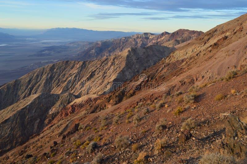 Взгляд ` s Dante в Death Valley Калифорнии стоковая фотография