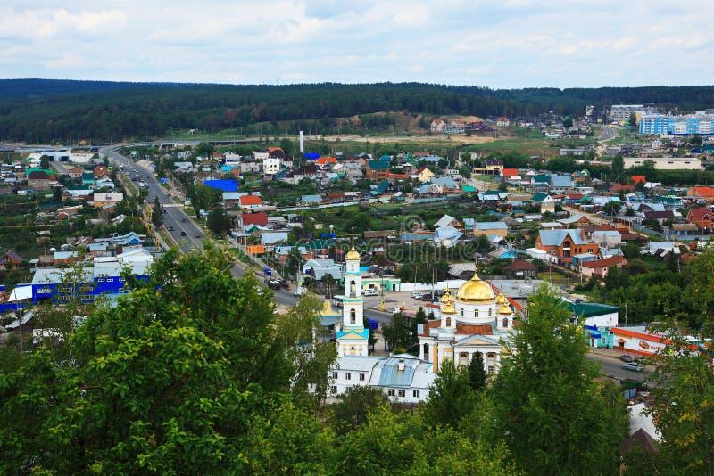 взгляд samara кургана tsar стоковые изображения
