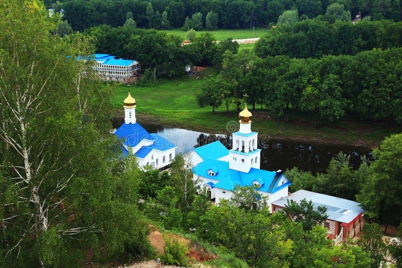 взгляд samara молельни кургана tsar стоковое изображение