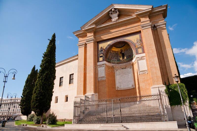 Взгляд Scala santa горизонтальный на Roma - Италии стоковые изображения rf