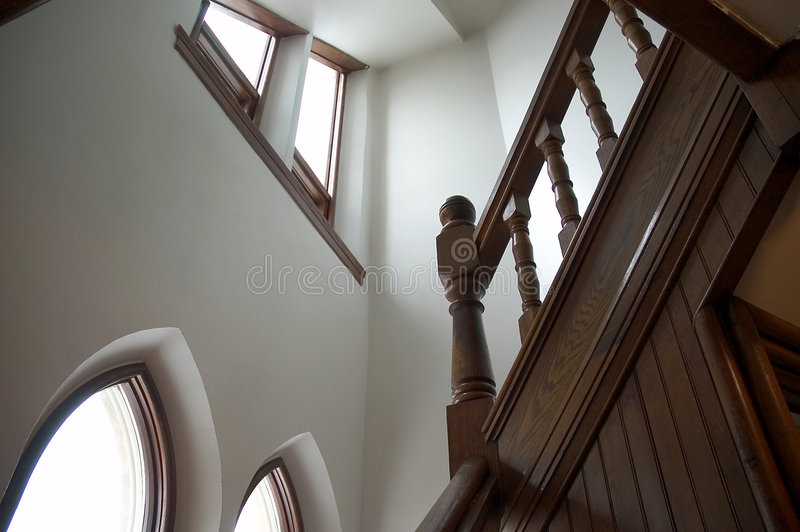 взгляд Stairway Стоковые Фото