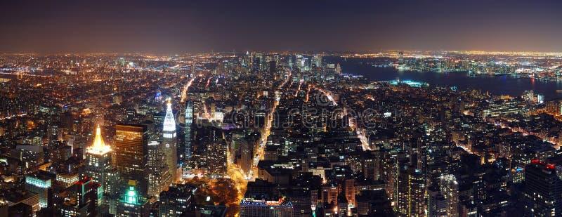 взгляд york воздушного города новый стоковая фотография rf