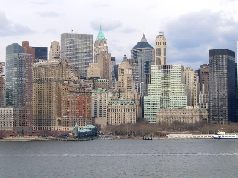 взгляд york генералитета manhattan города новый стоковое изображение
