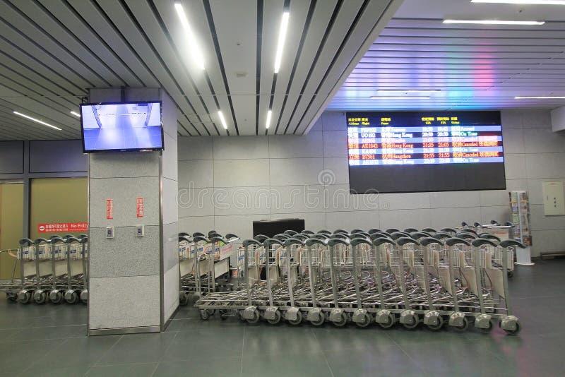 Взгляд авиапорта Taichung стоковое изображение rf