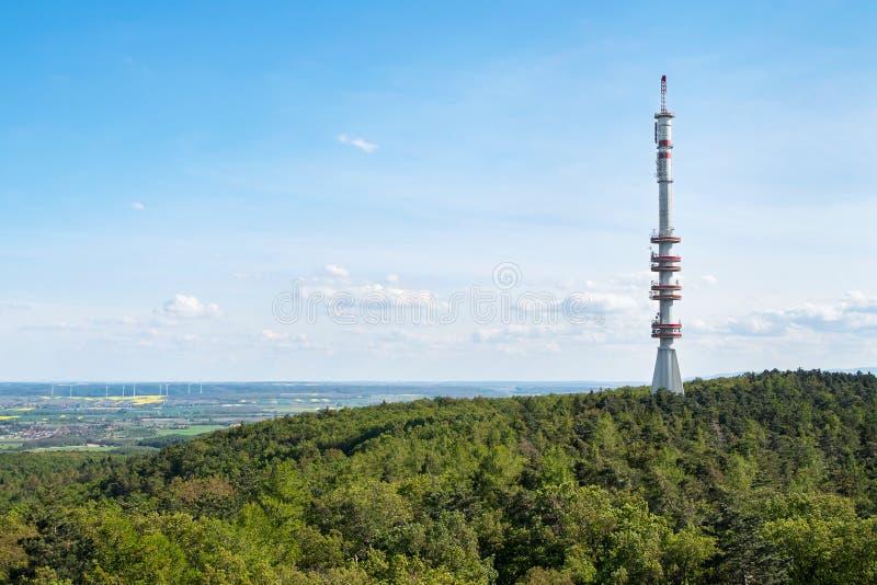 Взгляд башни ТВ Sopron, Венгрии стоковое изображение